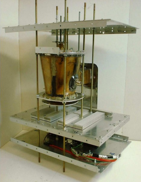 EmDrive two is new version of this machine, which provides huge thrust, big enough for satelites and flying vehicles.