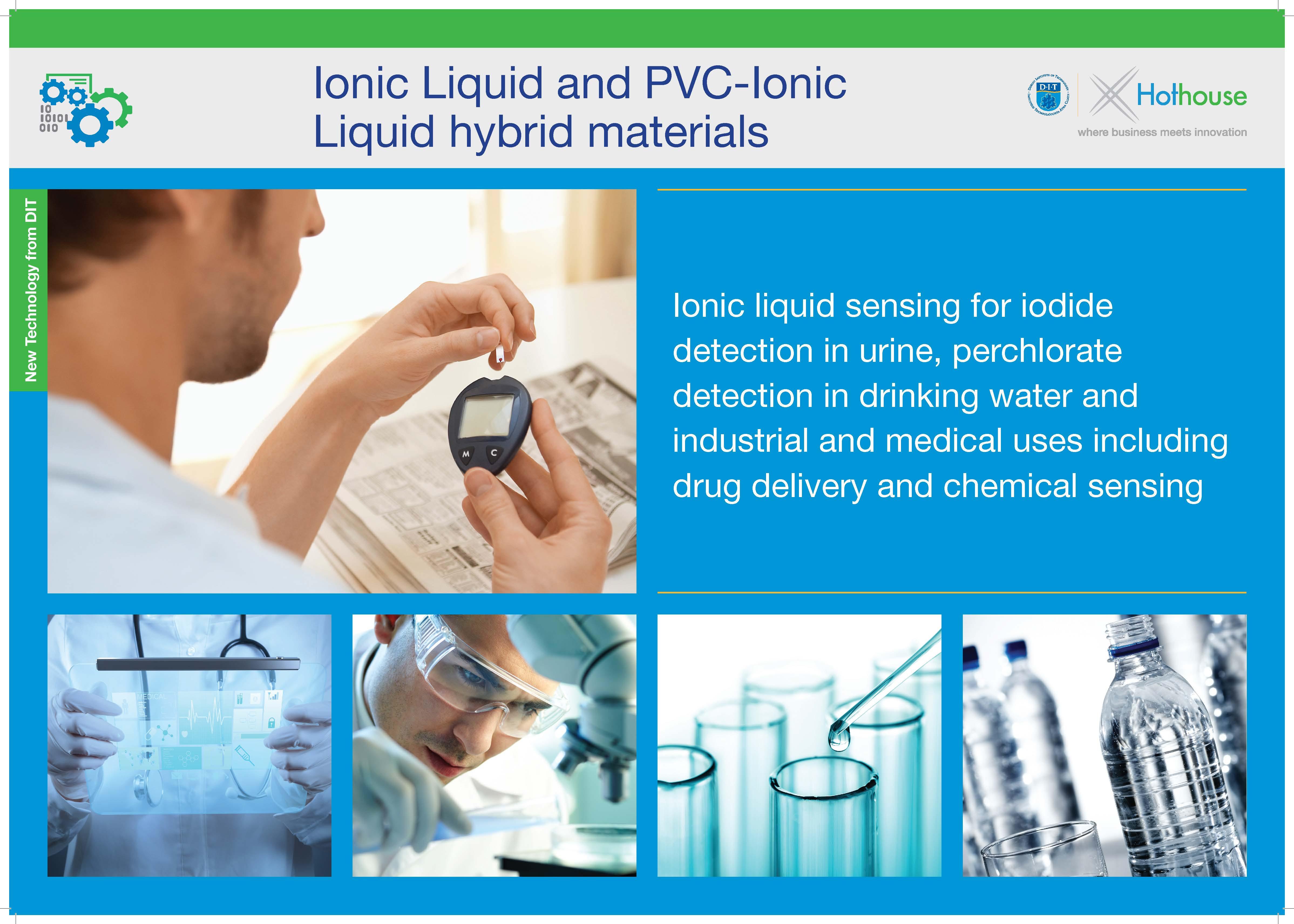 Ionic Liquid Sensing