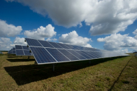 Raw material recovery from solar  panels